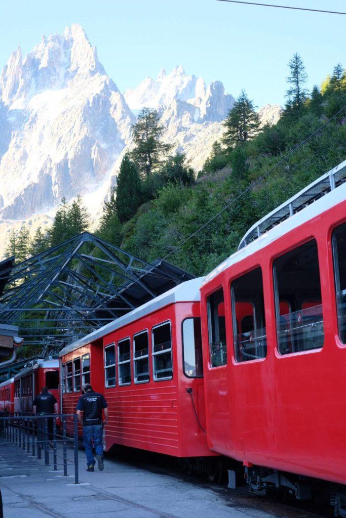 モンタンヴェール登山鉄道